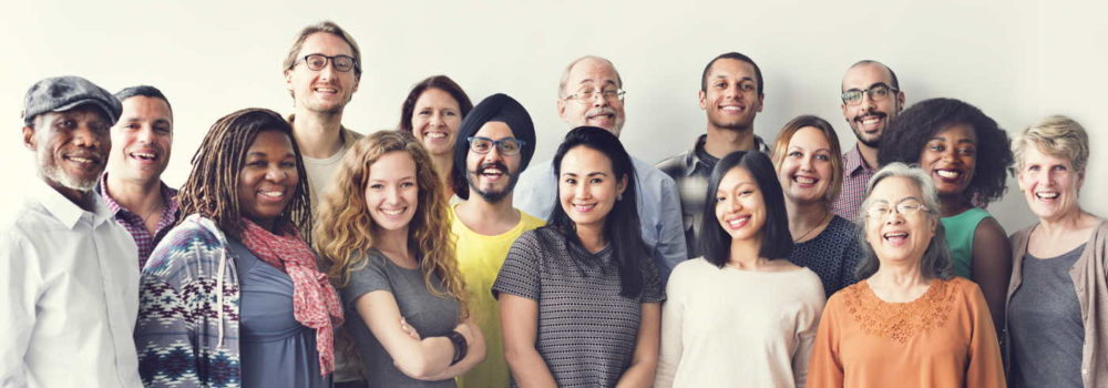Multi etnische groep
